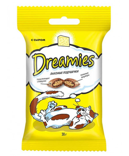 Дримс/Dreamies  30гр лакомство для кошек с сыром